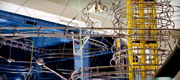 Moving sculpture from the St. Louis Science Center.  Image credit: St. Louis Science Center website.