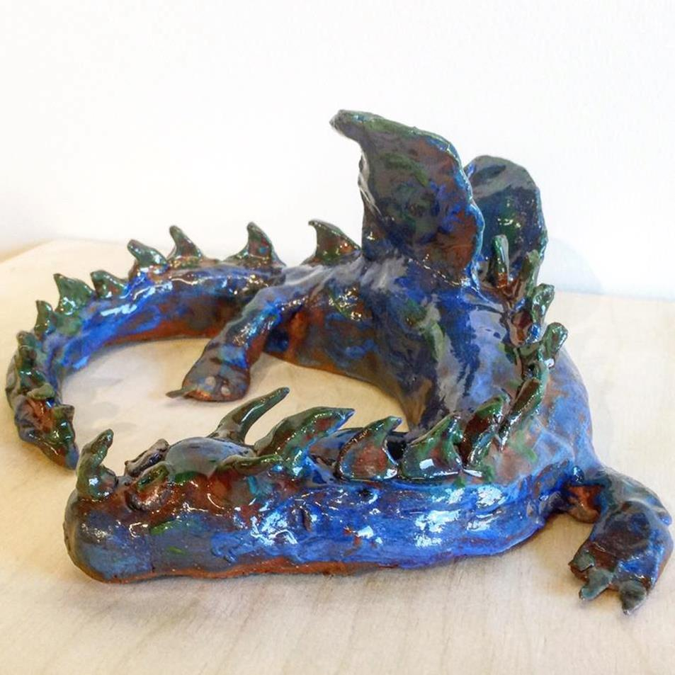Fantasy Creatures from Clay