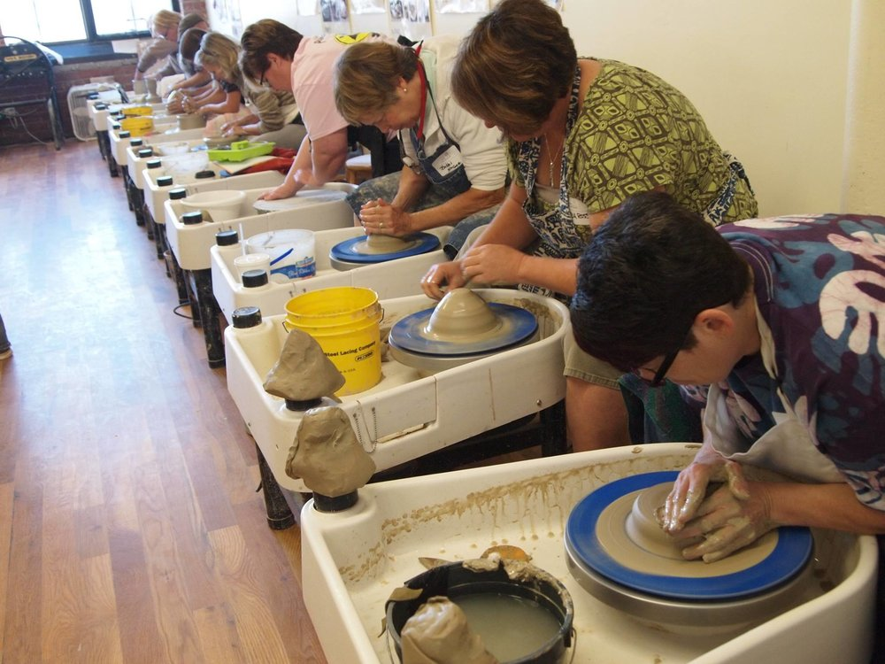 Wheel Class - Learn the basics of using the wheel in this class and have a ton of fun!