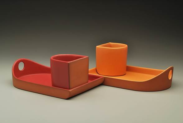 Paul Eshelman, Flatback Trays and Cups