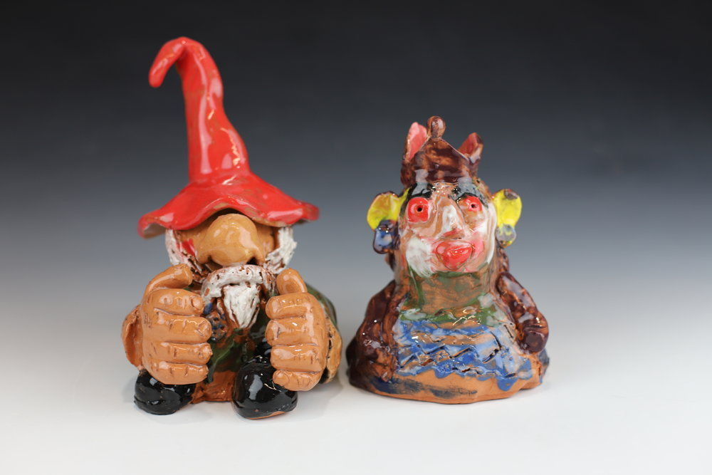 Garden Gnomes - You will make and personalize your own Garden Gnome in this class, just in time for Spring. **kids ages 8 and under MUST be accompanied by an adult**