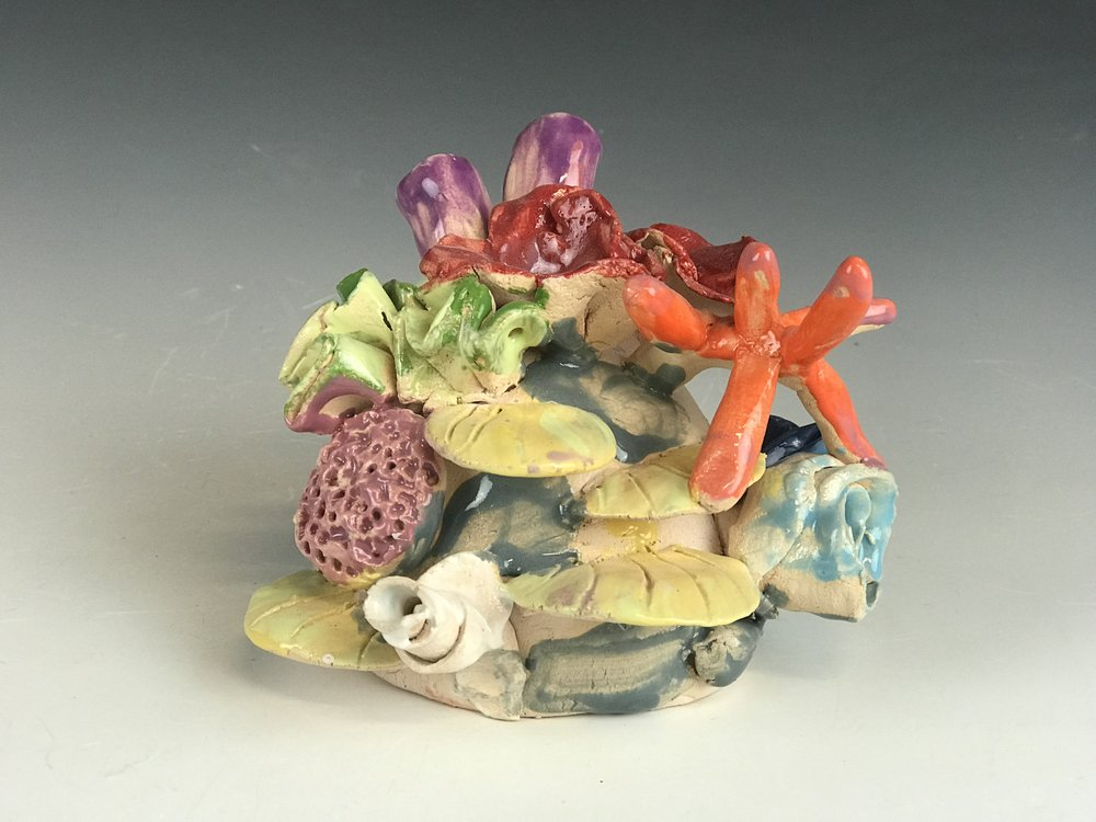 Clay Coral Reef - Let's go underwater and sculpt a beautiful creation only found under the sea.**kids ages 8 and under MUST be accompanied by an adult**