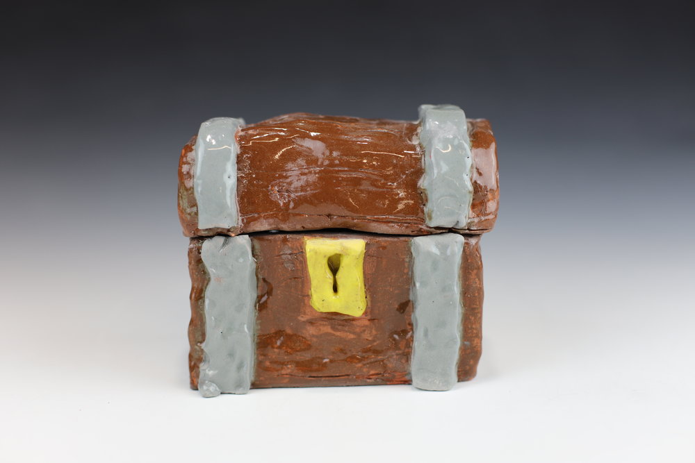 Lidded Boxes - Using slab techniques create a box with a lid for all of your secret treasures.**kids ages 8 and under MUST be accompanied by an adult**