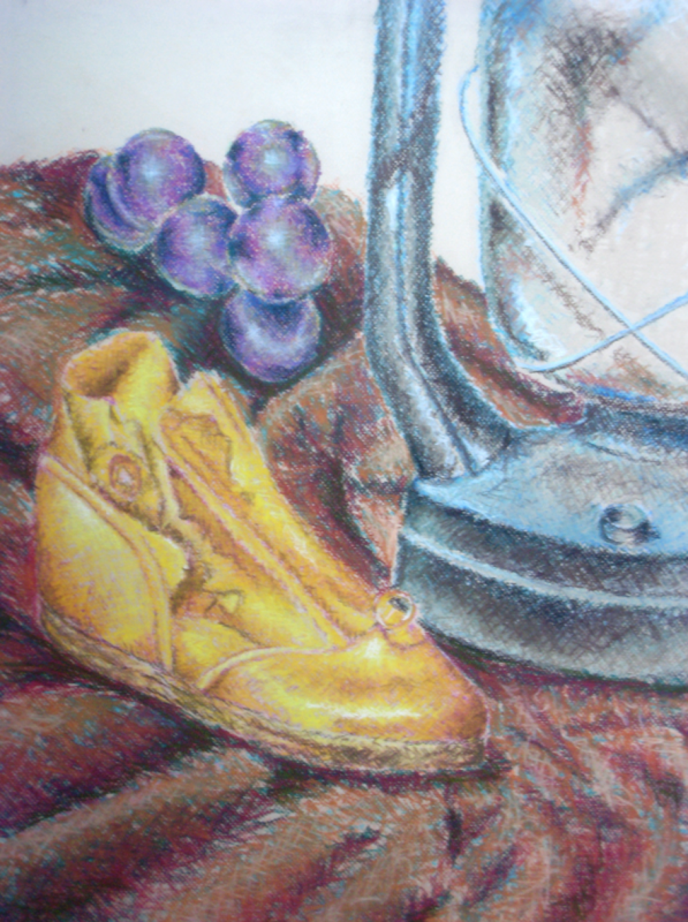 Drawing 2- Three Layers Pastel