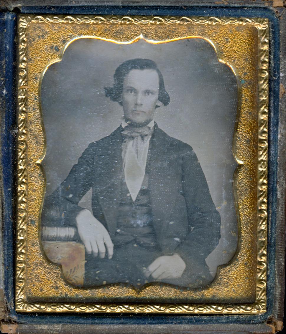 Otis Bartlet Jenne age 25 (b. 1827) Elder of Elgin, IL