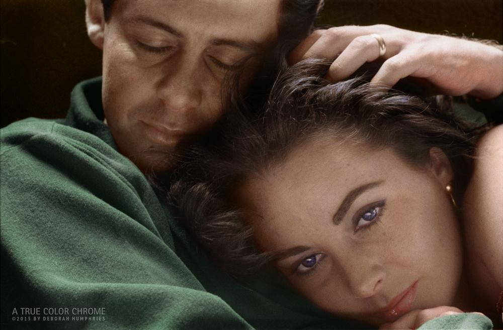 Eddie Fisher and Liz Taylor, c. 1961