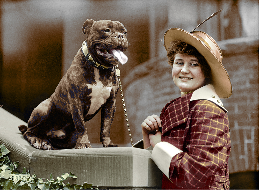 Miss Edith Gracie and Friend