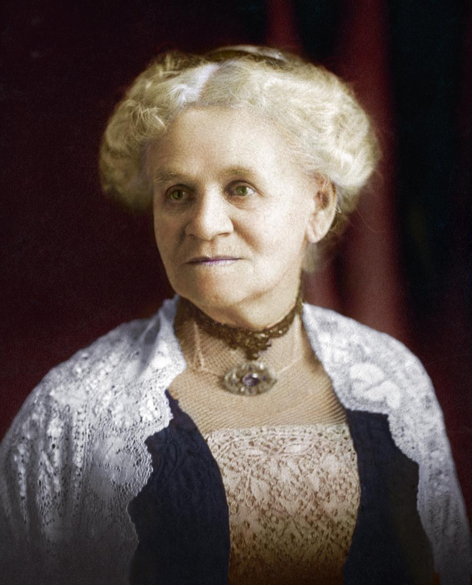 Gr. Gr. Aunt, Sarah Jane (SJ) Pulis, 1883