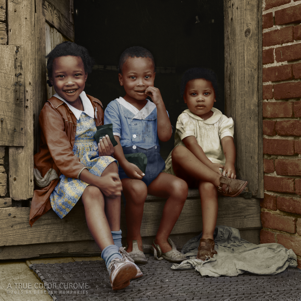 Three Children, July, 1941
