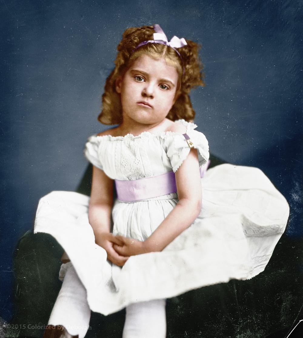 Miss Bateman, 1865