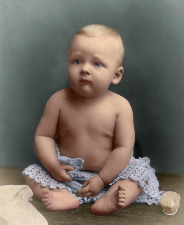 Baby Claude, c. 1890