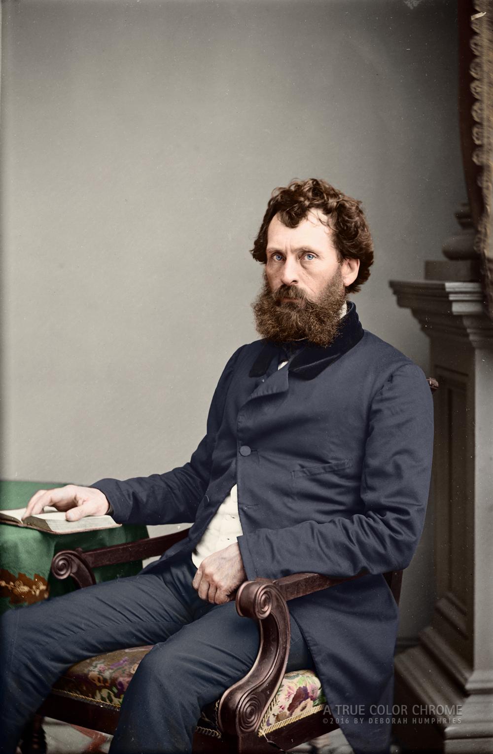 John Bigelow c. 1860 Mathew Brady Portrait