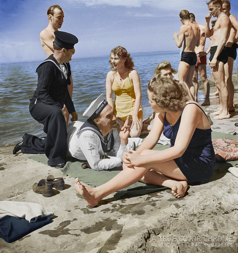 United Nations Heroes and Friends, Lake Ontario, NY, June 1943