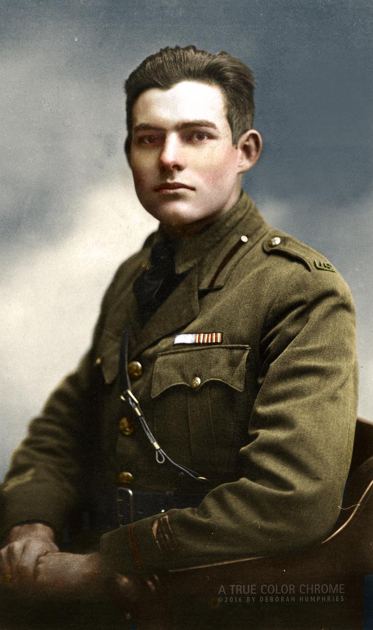 Ernest Hemingway Summer 1918