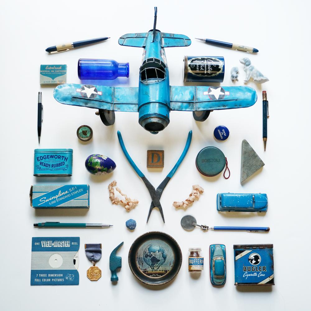 Big Blue Plane