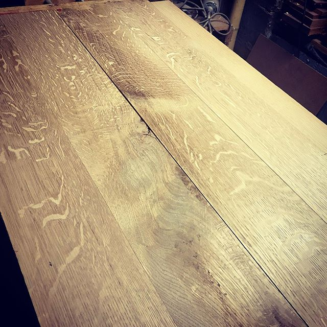 There's just something about quartersawn white oak.