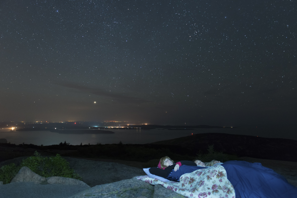 Under the stars, Cadillac Mountain - Acadia Photo Safari