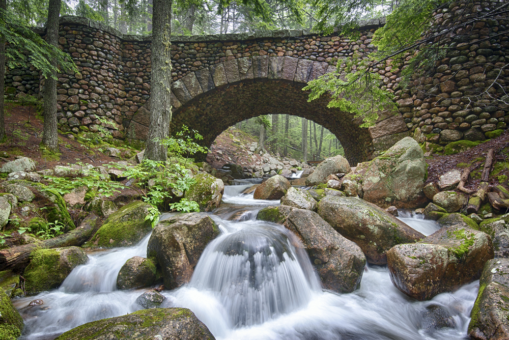 Cobblestone Bridge, Acadia National Park, Maine