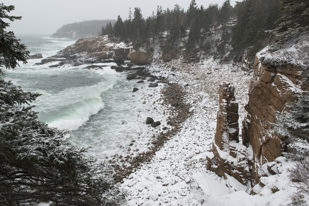 Post-Processing 1,Blizzard, Monument Cove, Acadia National Park, Maine