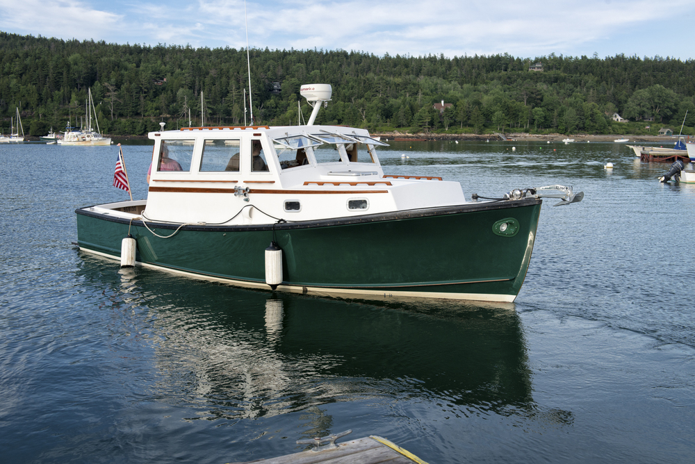 Our Ellis 28 Lobster Yacht, Seal Harbor, Maine