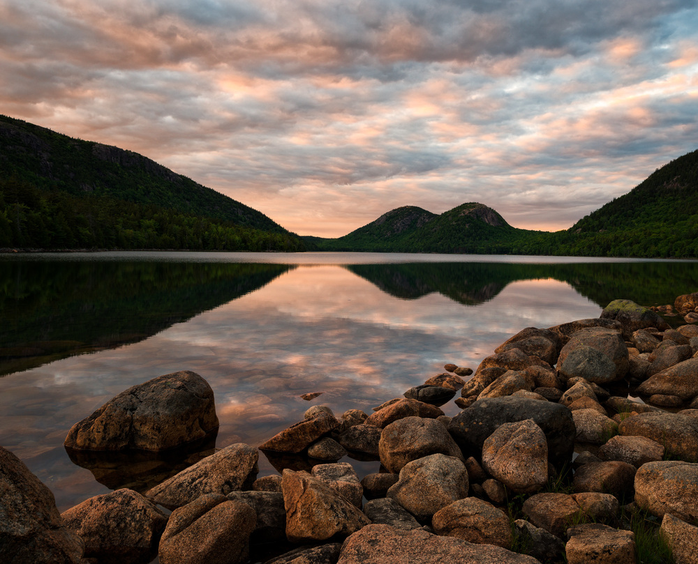 Supper's Sunset, Jordan Pond, Acadia National Park, Maine