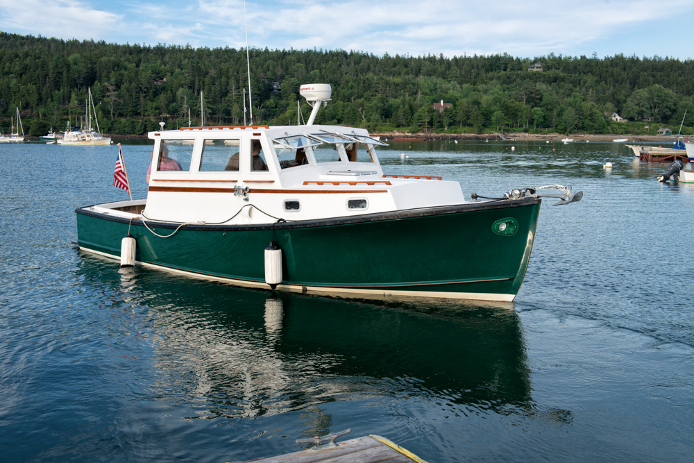 28' Locally Built, Ellis 'Lobster Yacht', Sunset Cruise, Acadia Photo Safari