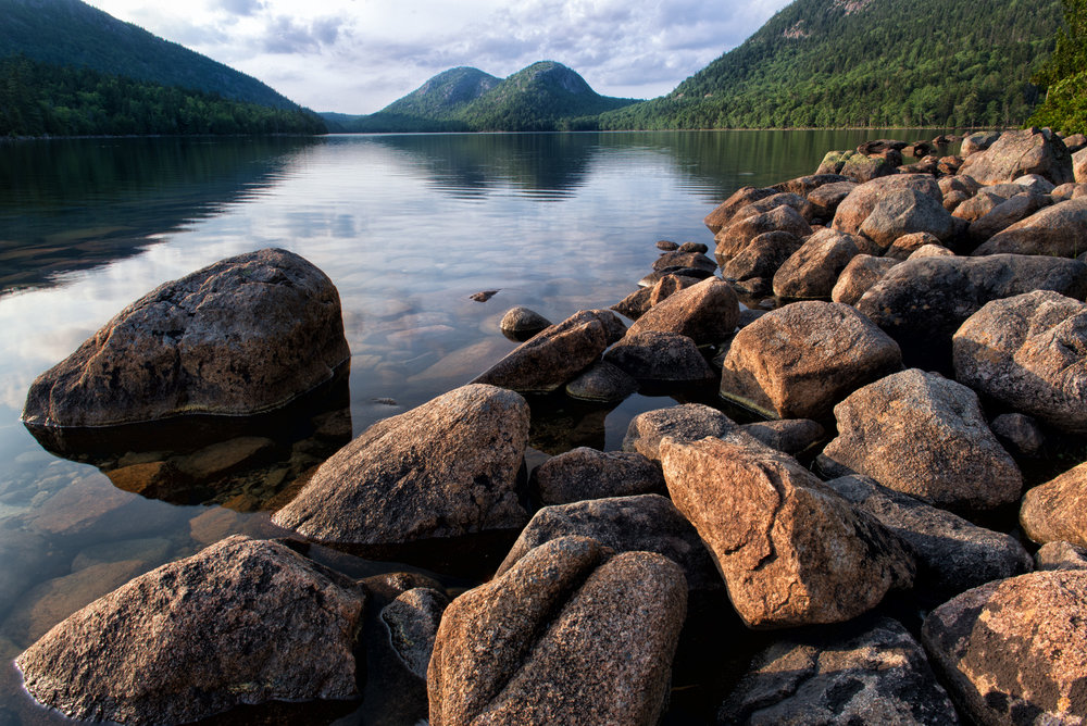 Jordan Pond, Acadia National Park, Maine