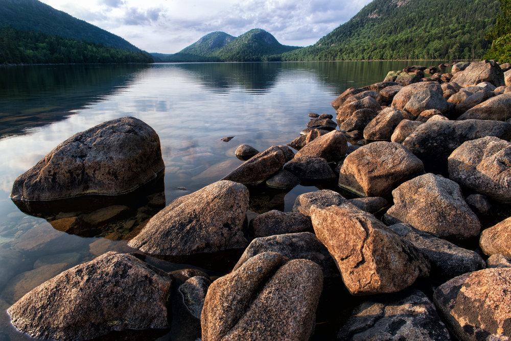 Jordan Pond,Acadia National Park,Maine