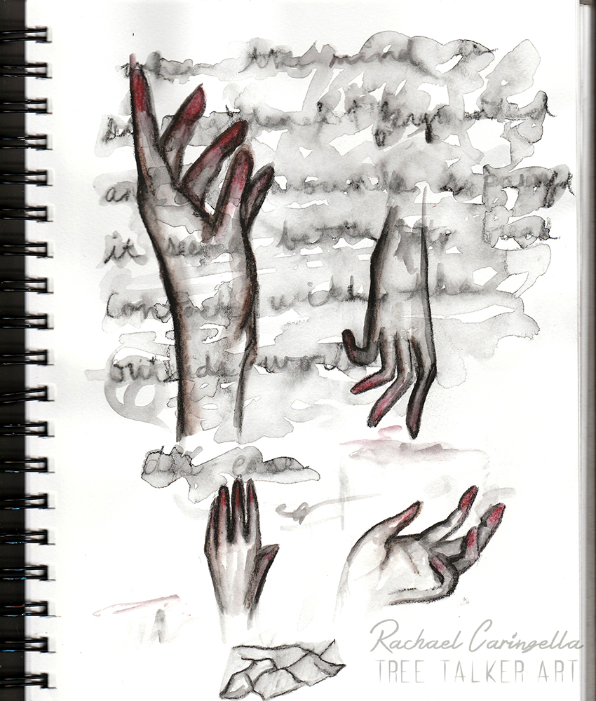 Water Soluble Hand Study