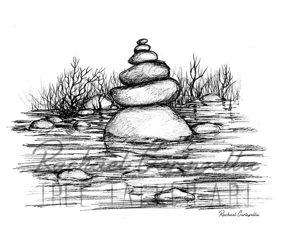 Rock Tower  | Tree Talker Art