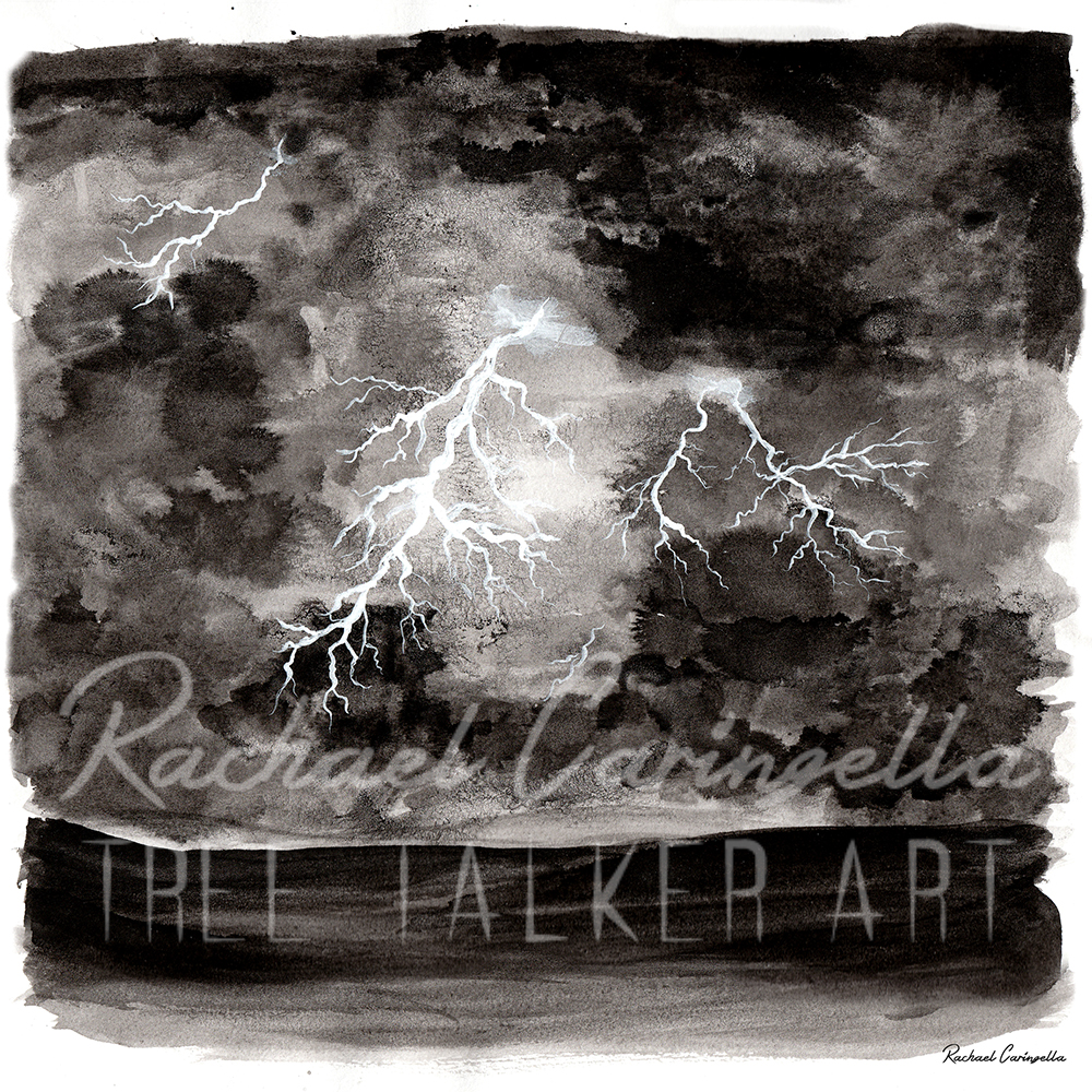Stormy Night  | Tree Talker Art