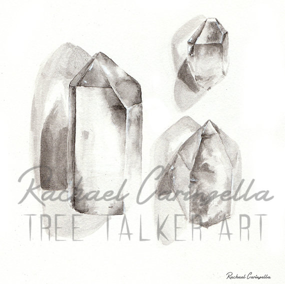 Crystals | Tree Talker Art