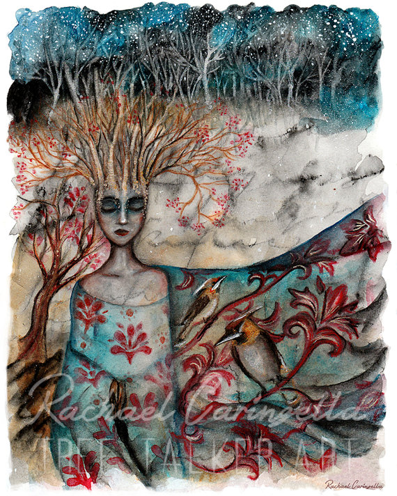 Wrapped In Song | Tree Talker Art
