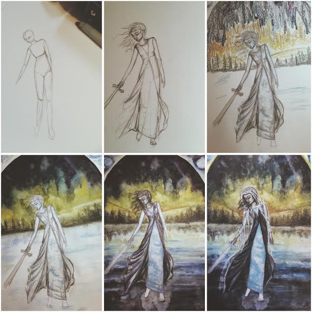 Step By Step Art| Tree Talker Art Rachael Caringella