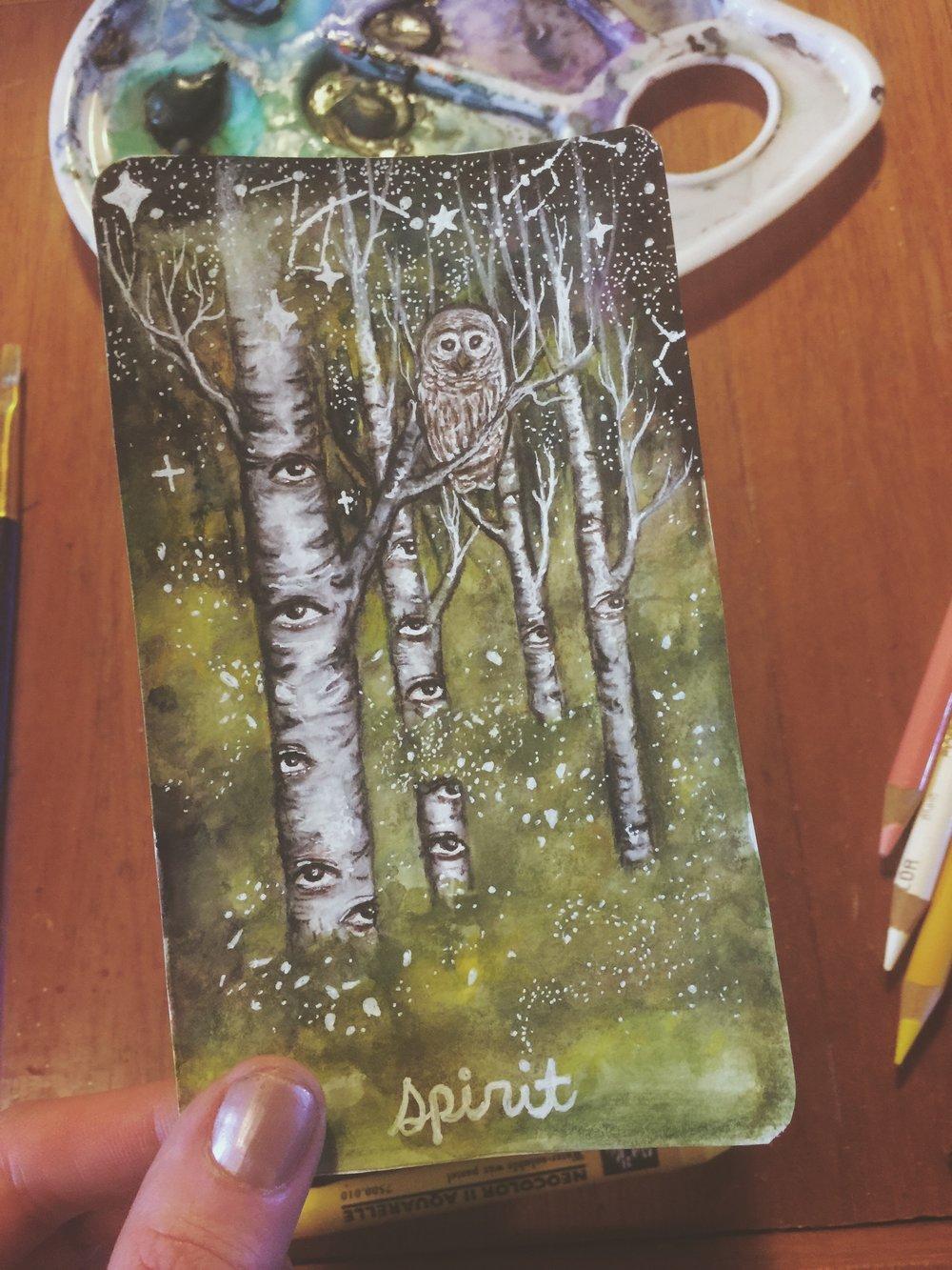 Spirit | Untamed Truth Oracle | Tree Talker Art