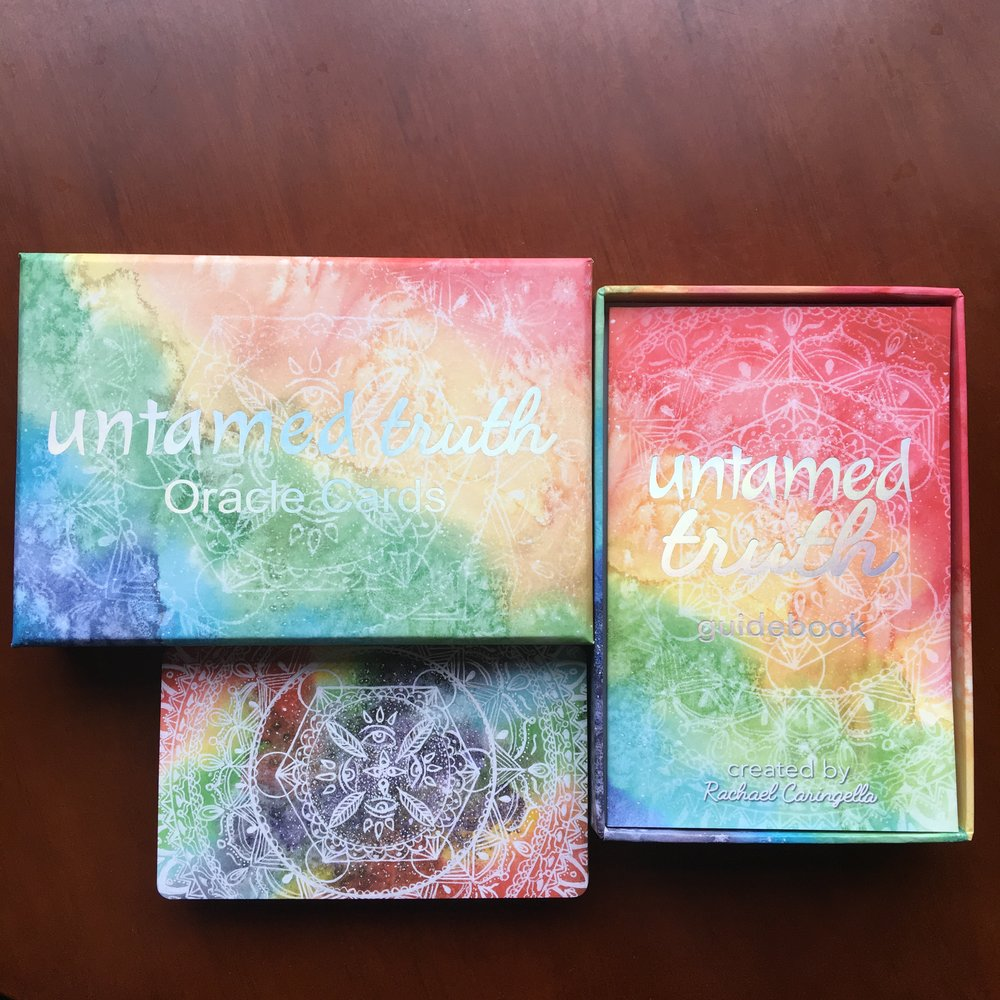 Untamed Truth Oracle Cards and Box | Tree Talker Art