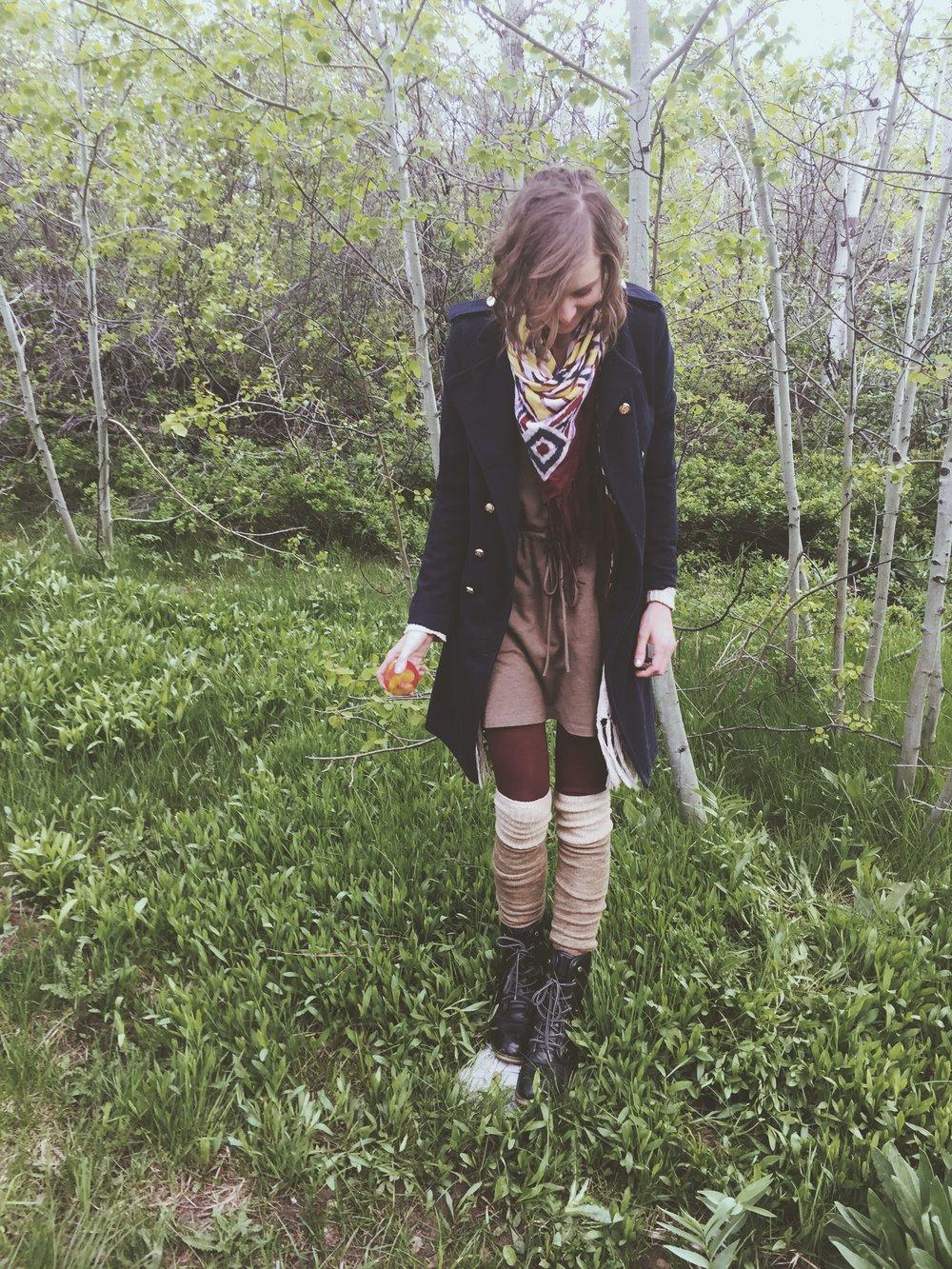 Leaving the mountain   Tree Talker Art