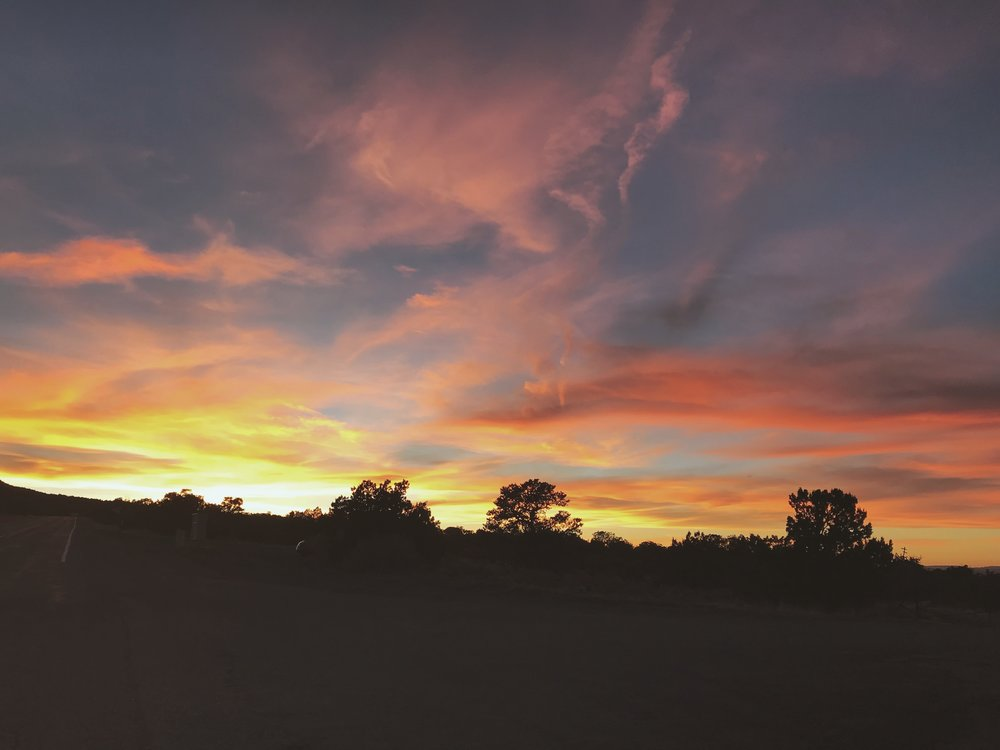 New Mexican Sunsets