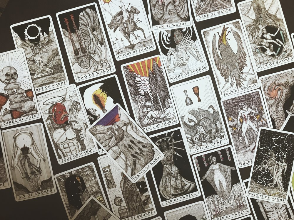 Tarot Restless | Tarot Deck Review | Tree Talker Art