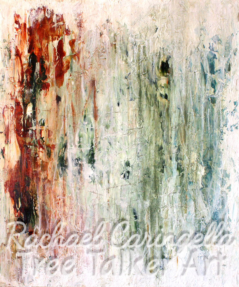Of All the Seasons, Spring is the Last that Should be Late | Abstract Art Rachael Caringella Tree Talker Art