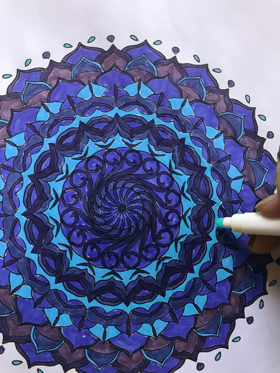 Colorable Mandala