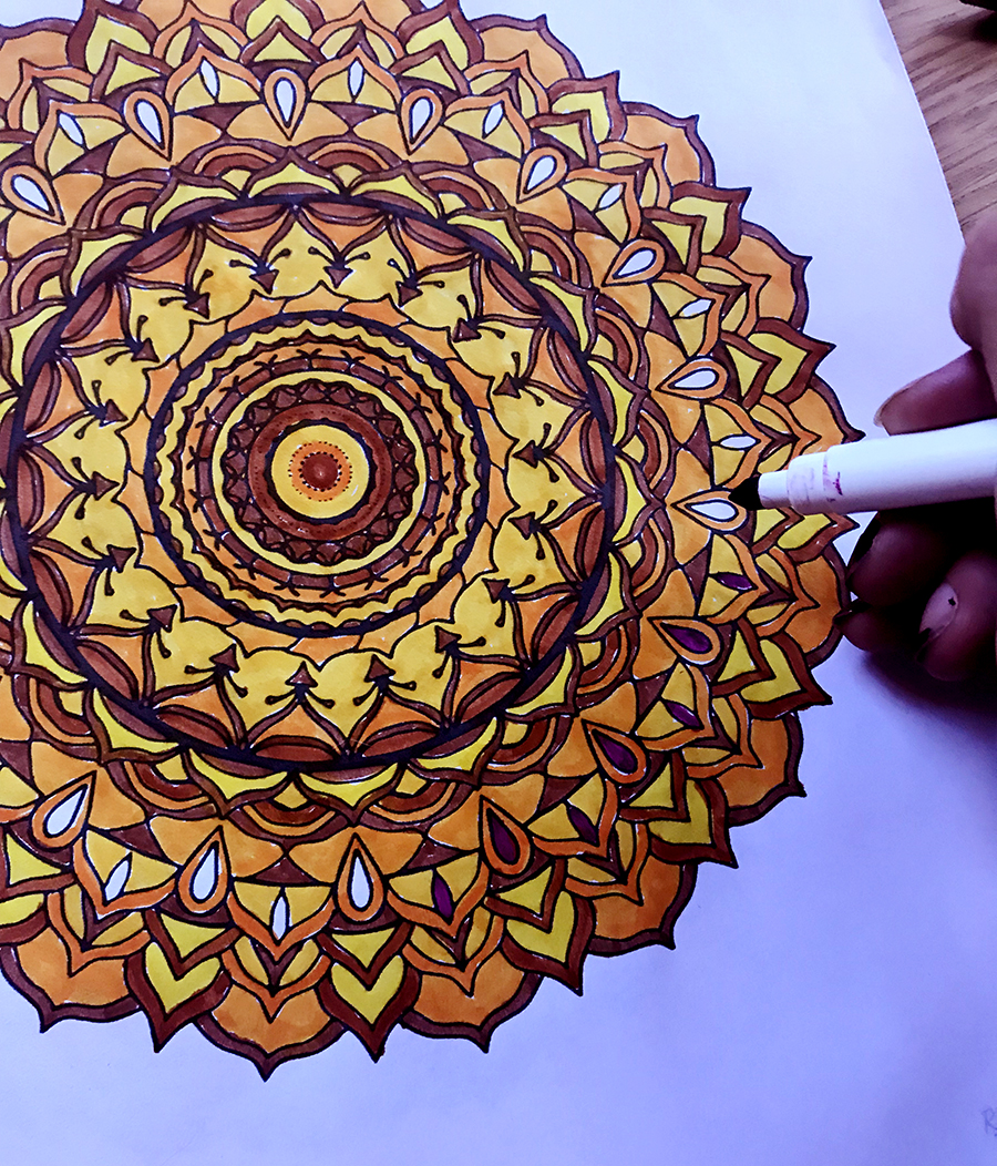 Colorable Mandala | Tree Talker Art