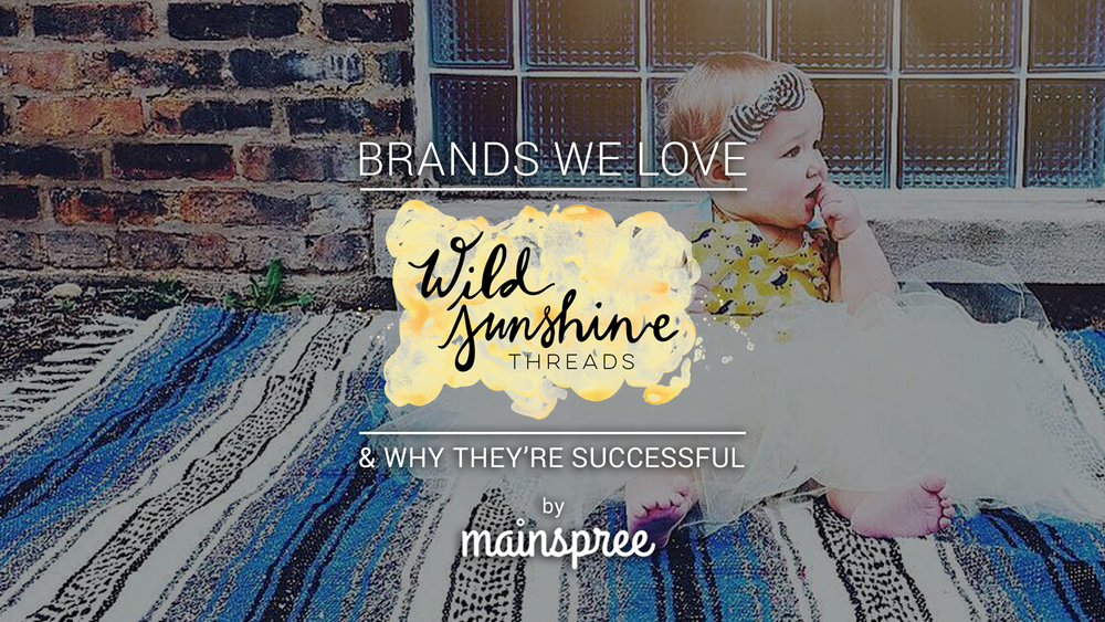 """Brands We Love"" Blog Promotion"