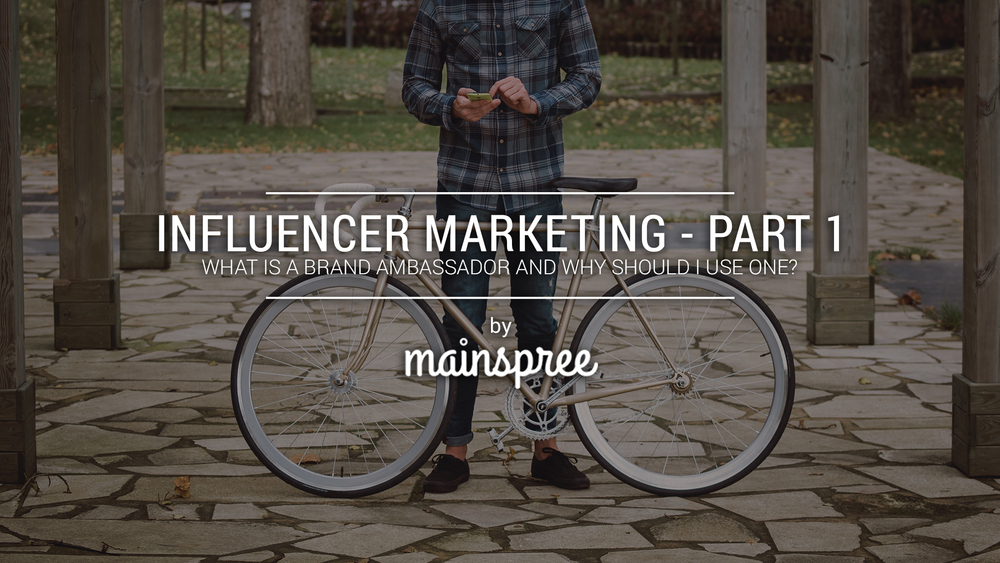 """Influencer Marketing"" Blog Series Promotion"