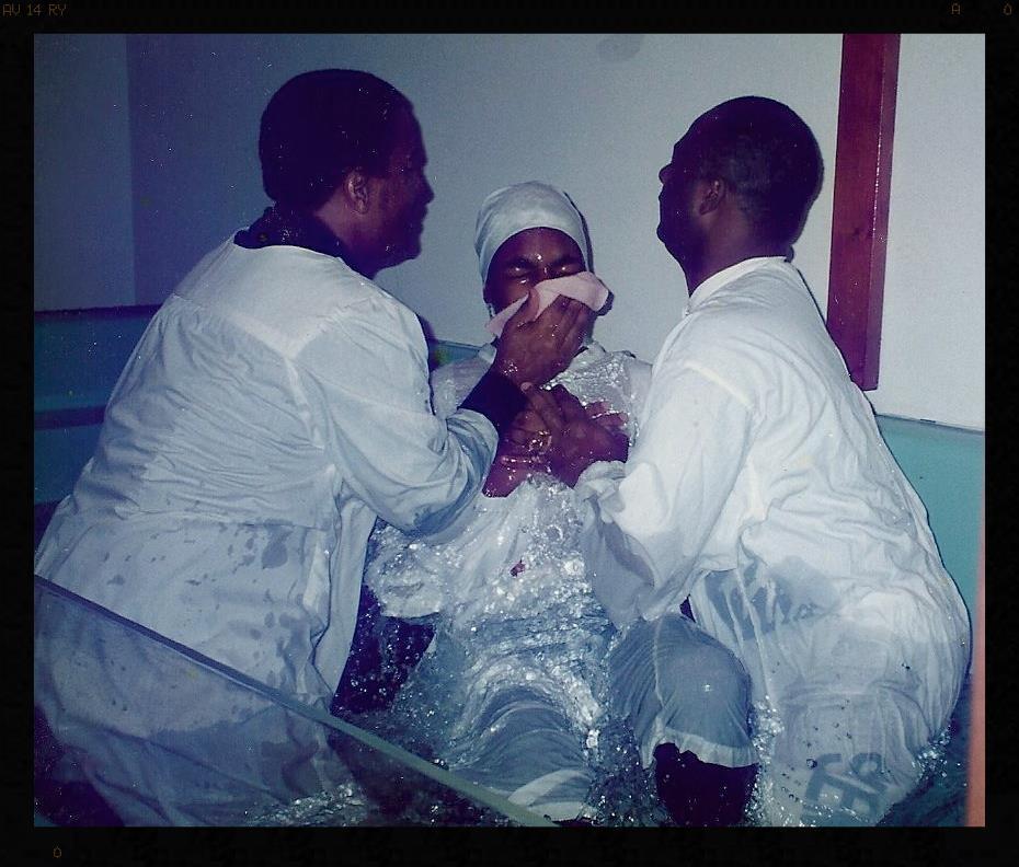 1998 - Age 16 Baptism