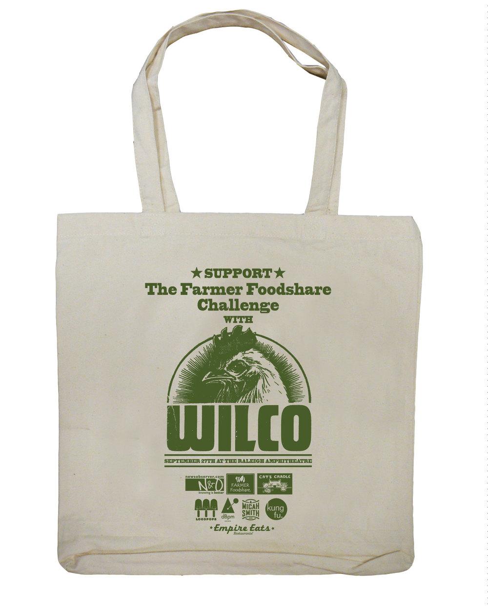 Wilco tote bag