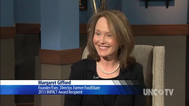Margaret Gifford on North Carolina Now, WUNC-TV, December 12, 2013.