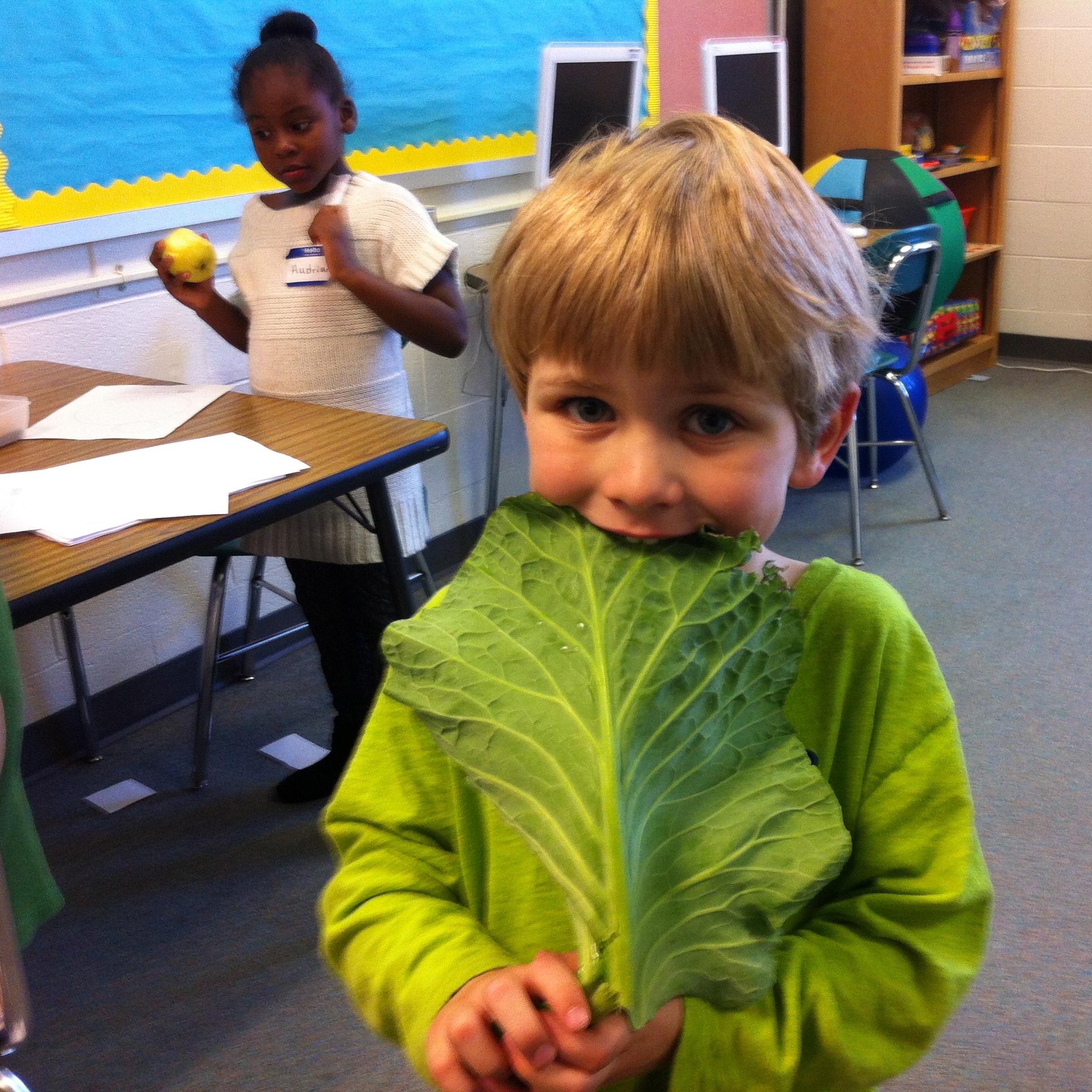 Help us get more kids hooked on fresh fruits and veggies