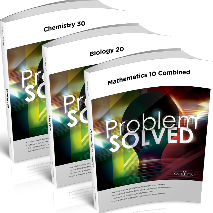 Combine with Problem Solved - The Class Notes Workbook can be used together with the Problem Solved Workbook to get a full lesson-and-question learning solution.