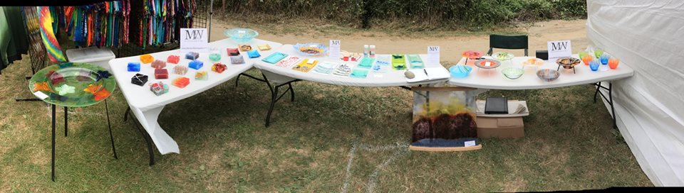 The full spread at the Duvall Sandblast Festival at the end of the summer last year...